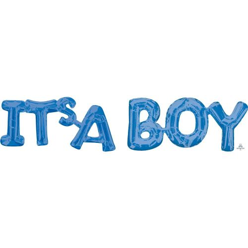 """It's A Boy"" Blue Phrase"